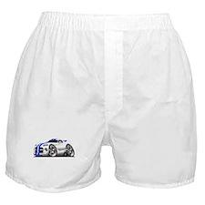 Viper GTS White-Blue Car Boxer Shorts