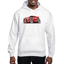 Viper GTS Red-Grey Car Hoodie