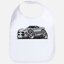 Viper GTS Grey-White Car Bib