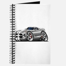 Viper GTS Grey-White Car Journal