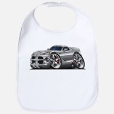 Viper GTS Grey-Silver Car Bib