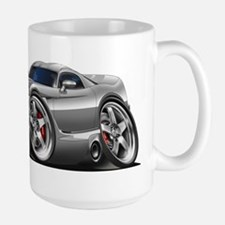 Viper GTS Grey-Silver Car Large Mug
