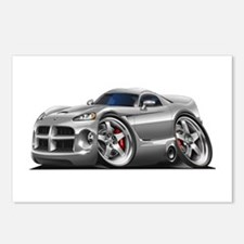 Viper GTS Grey Car Postcards (Package of 8)