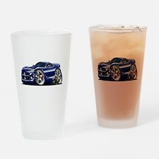 Viper GTS Dark Blue Car Drinking Glass