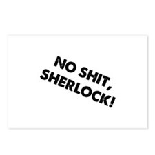 No Shit, Sherlock ! Postcards (Package of 8)