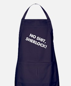 No Shit, Sherlock ! Apron (dark)