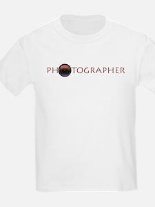 PHOTOGRAPHER-LENS- T-Shirt