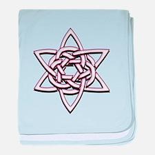Celtic Star baby blanket