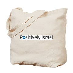 Positively Israel Tote Bag