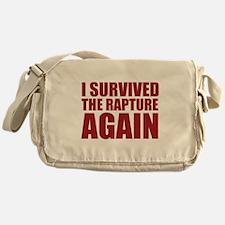 I Survived The Rapture Again Messenger Bag