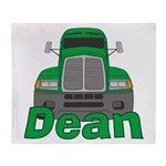 Trucker Dean Throw Blanket