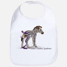 Zebra with Ribbon on Tail Bib