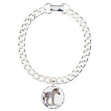 Zebra with Ribbon on Tail Bracelet