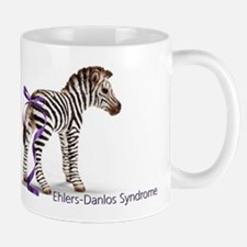 Zebra with Ribbon on Tail Mug