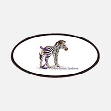 Zebra with Ribbon on Tail Patches