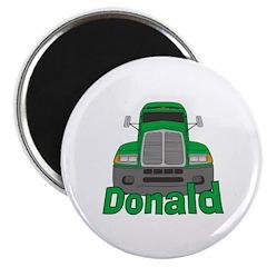 Trucker Donald Magnet