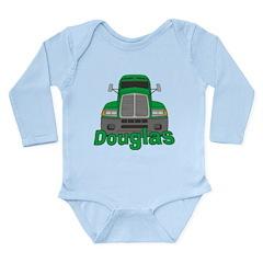 Trucker Douglas Long Sleeve Infant Bodysuit