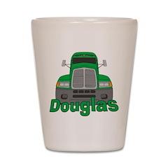 Trucker Douglas Shot Glass