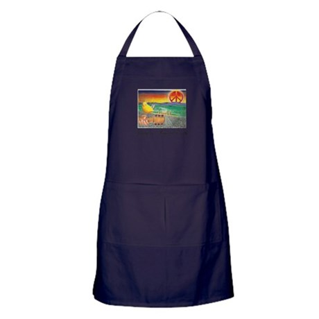 Imagine Peaceful Planet Apron (dark)