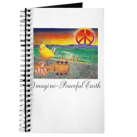 Imagine Peaceful Planet Journal