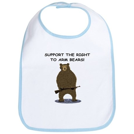 SUPPORT THE RIGHT TO ARM BEARS Bib