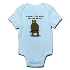 SUPPORT THE RIGHT TO ARM BEARS Infant Bodysuit