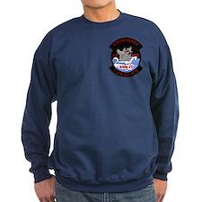 2-Sided Navy Veteran Sweatshirt