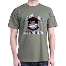 Navy Veteran SSN-21 T-Shirt
