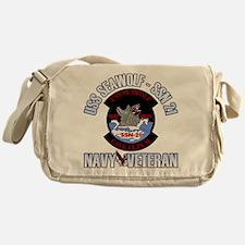Navy Veteran SSN-21 Messenger Bag