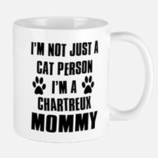 Chartreux Cat Design Small Small Mug