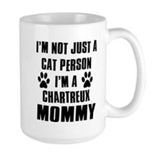 Chartreux Cat Design Mug