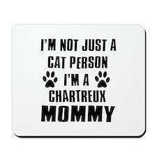 Chartreux Cat Design Mousepad