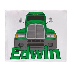 Trucker Edwin Throw Blanket