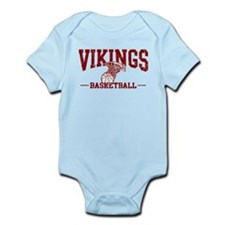 Vikings Basketball Infant Bodysuit
