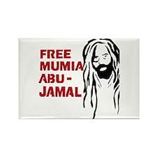 Mumia Abu Jamal Rectangle Magnet