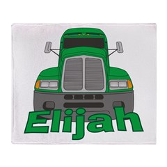 Trucker Elijah Throw Blanket