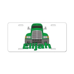 Trucker Elijah Aluminum License Plate