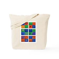 Cute Art quilting Tote Bag