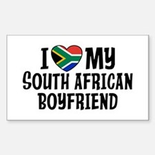 South African Boyfriend Sticker (Rectangle)