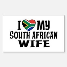 South African Wife Decal