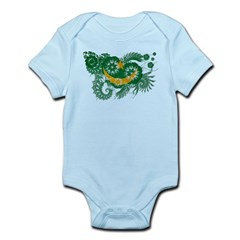 Mauritania Flag Infant Bodysuit