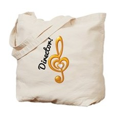Music Director Treble Clef Tote Bag