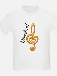 Music Director Treble Clef T-Shirt
