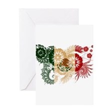 Mexico Flag Greeting Card