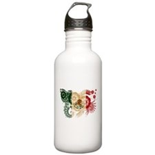 Mexico Flag Water Bottle