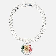 Mexico Flag Bracelet
