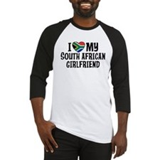 South African Girlfriend Baseball Jersey