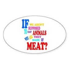 They're Made of Meat Decal