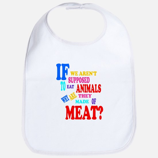 They're Made of Meat Bib
