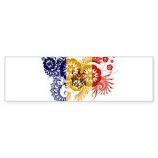Moldova Flag Bumper Sticker